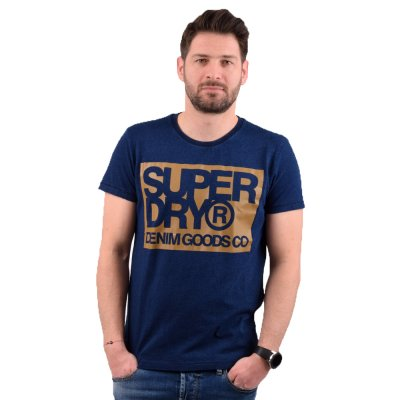 Superdry DENIM GOODS CO PRINT TEE ΜΠΛΟΥΖΑ ΑΝΔΡΙΚΗ (M1010056A 17G)