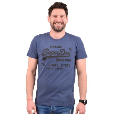 Superdry VL SHIRT SHOP BONDED TEE ΜΠΛΟΥΖΑ ΑΝΔΡΙΚΗ (M1010100A JUA)
