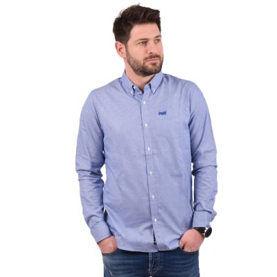 Superdry CLASSIC LONDON L/S SHIRT ΠΟΥΚΑΜΙΣΟ ΑΝΔΡΙΚΟ (M4010018A T5P)