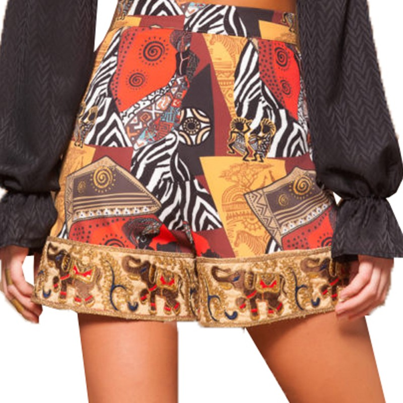 Mallory the Label AFRICANA SHORTS (MAL-AFRICANA PRINT)