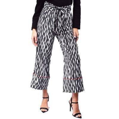 Mallory the Label Pants (MAL-MARL BLACK)