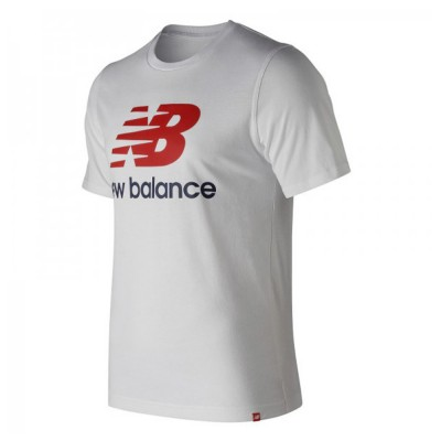 New Balance T-Shirt (MT91546WM White Multi)