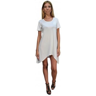 Silvian Heach DRESS RERIUTABA (PGP18537VE WHITE MOON)
