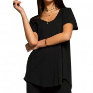 Peace and Chaos BASIC T-SHIRT (S19243 BLACK)