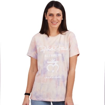 Peace and Chaos PASTEL TIE DYE T-SHIRT (S20202 TYPOS)