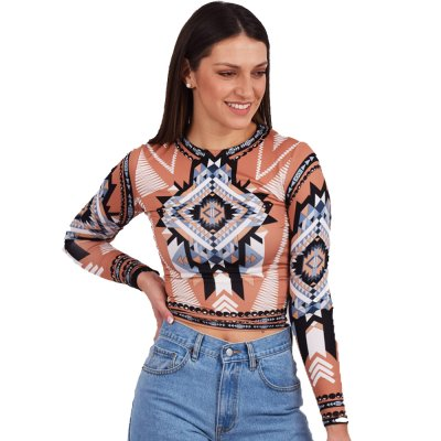 Peace and Chaos MOJAVE TOP (S20224 TYPOS)