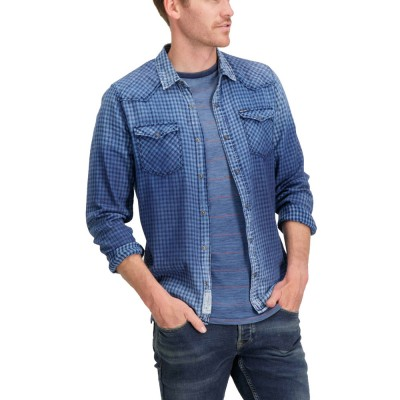 Garcia Jeans men`s shirt ls ΠΟΥΚΑΜΙΣΟ (S81030 1050)