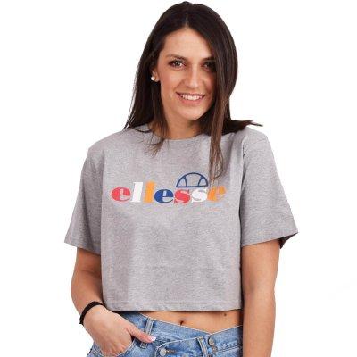 Ellesse RALIA CROP T-SHIRT ΜΠΛΟΥΖΑ ΓΥΝΑΙΚΕΙA (SGE07371 GREY MARL)