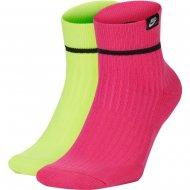 Nike U SNKR SOX ANKLE 2PR - HI VIZ (SK0206-909)