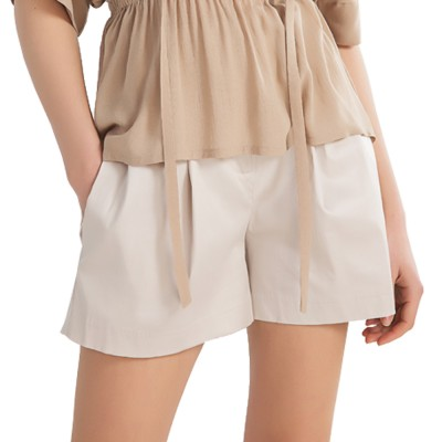 4Tailors The Lady's Shorts (SS18-016 BEIGE)