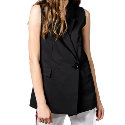 4Tailors The Entrepreneur Vest (SS19-069 BLACK)