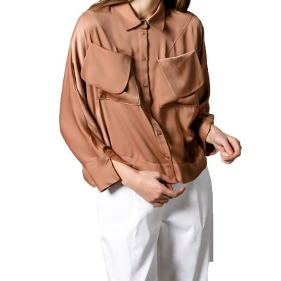 4Tailors The Pocketful Shirt (SS19-122 BEIGE)