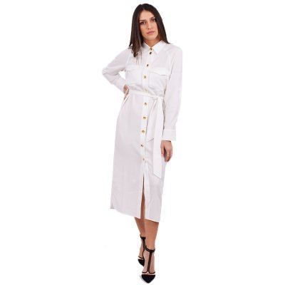 4Tailors The Pleaser Dress (SS20-005 WHITE)