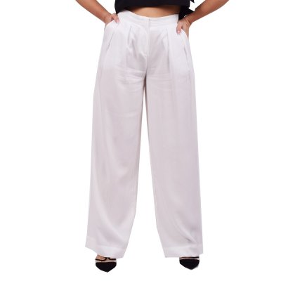 4Tailors The Flowing Pants (SS20-080 WHITE)