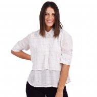 4Tailors The Geometry Shirt (SS20-089 WHITE)