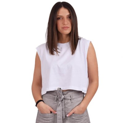4Tailors The Workout Crop top (SS20-214 WHITE)