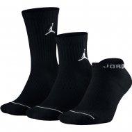Nike Unisex Jordan Waterfall Socks (3 Pairs) (SX6274-010)