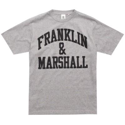 Franklin and Marshall TSHIRT JERSEY ROUND NECK SHORT (TSMF101ANS19 2197)