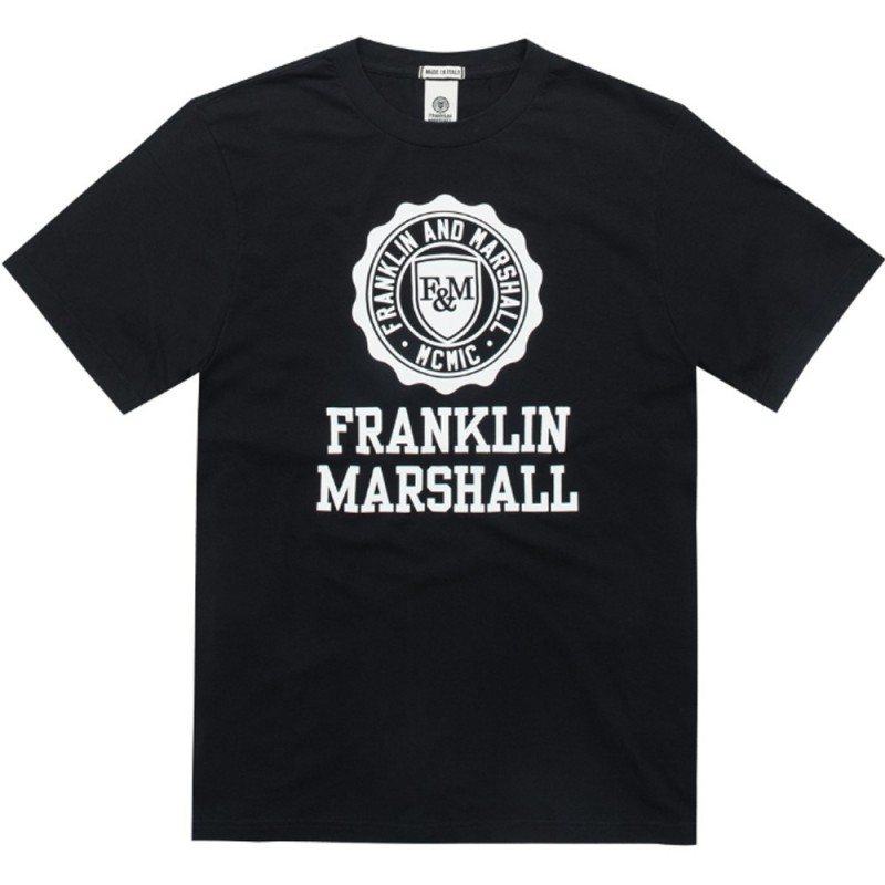 Franklin and Marshall TSHIRT JERSEY ROUND NECK SHORT (TSMF105ANS19 0021)