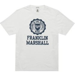 Franklin and Marshall TSHIRT JERSEY ROUND NECK SHORT (TSMF105ANS19 0178)