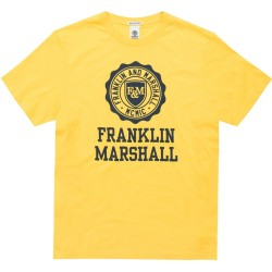 Franklin and Marshall TSHIRT JERSEY ROUND NECK SHORT (TSMF105ANS19 2365)