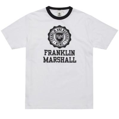 Franklin and Marshall TSHIRT JERSEY ROUND NECK SHORT (TSMF106ANS19 0391)