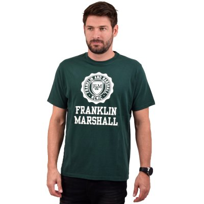 Franklin and Marshall SHIRT JERSEY ROUND NECK SHORT (TSMF333ANW19 2408)