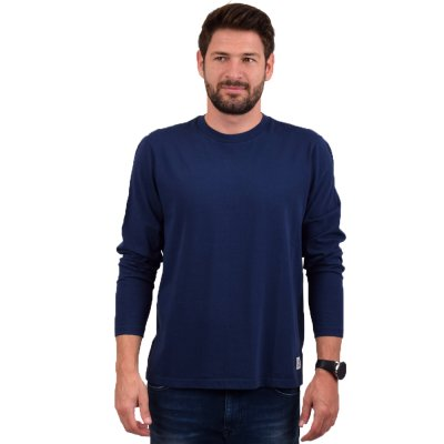 Franklin and Marshall TSHIRT JERSEY ROUND NECK LONG (TSMF336AMW19 0167)