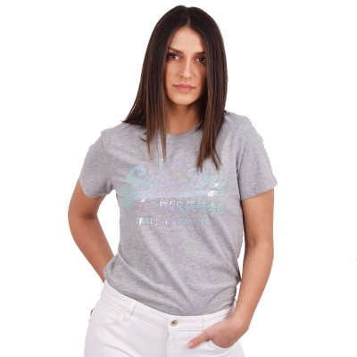 Superdry VL STITCH SEQUIN ENTRY TEE ΜΠΛΟΥΖΑ ΓΥΝΑΙΚΕΙΑ (W1010012A 07Q)